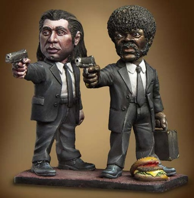 Caricature: Pulp Fiction (2)