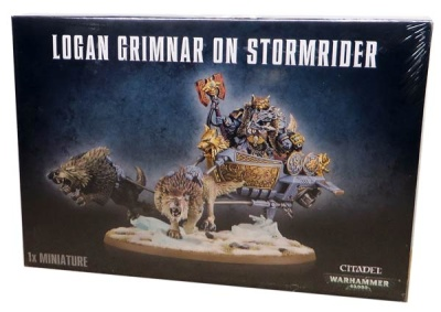 Logan Grimnar on Stormrider (MO)