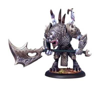 Legion of Everblight Nephilim Protector Warbeast