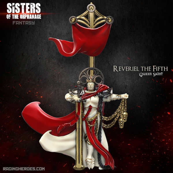 Reveriel the Fifth, Queen Saint (Sisters- F)