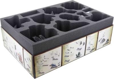 Schaumstoff-Set für Dreadfleet - Brettspielbox