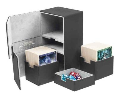 Twin Flip'n'Tray Deck Case 200+ Xenoskin Schwarz