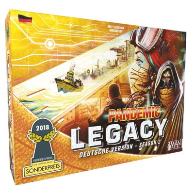 Pandemic Legacy - Season 2 GELB - Deutsch
