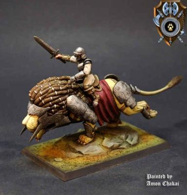 Siberias Lion Rider C