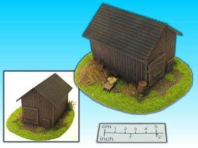 Geländestück Scheune (15mm)
