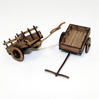 Peasants Ox Carts
