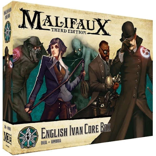 Malifaux (M3E): English Ivan Core Box