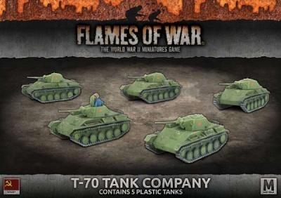 T-70 Tank Company (Plastic)
