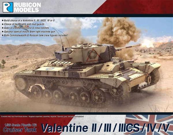 Valentine II/III/IIIcs/IV/V