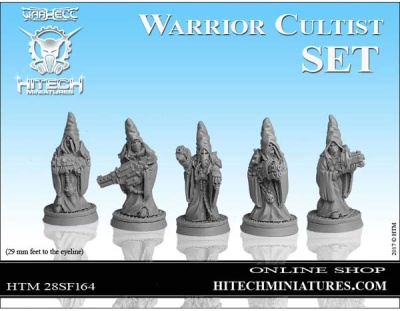 28mm  Warrior Cultists SET (5)