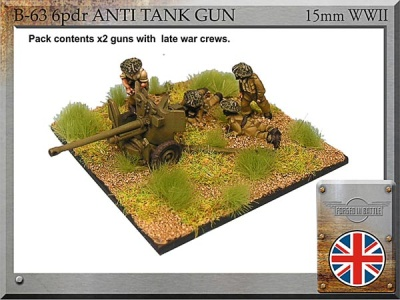6pdr anti-tank guns (2)