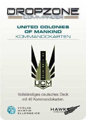 United Colonies of Mankind Kommandokarten (40)