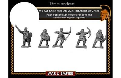 Later Persian, Light Infantry Archers