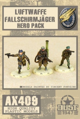 Fallschirmjager Hero Pack