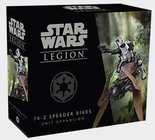 Star Wars: Legion - 74-Z-Düsenschlitten Einheit