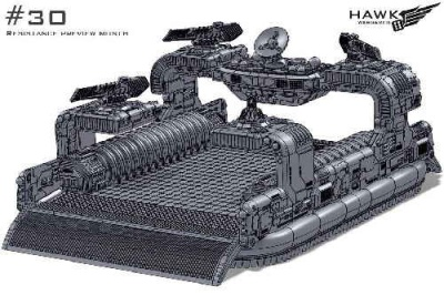 Resistance: Thunderstorm Command Hovercraft (1)