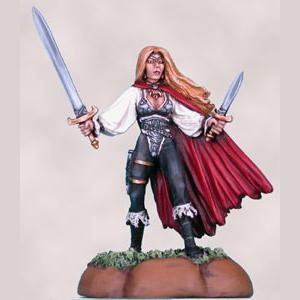 GlenRaven - Female Rogue with Sword and Dagger
