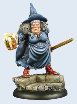 Discworld Miniature Nanny Ogg
