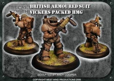 British Steel Armoured Trooper (Vicker)
