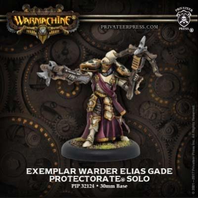 Protectorate Exemplar Warder Elias Gade Solo
