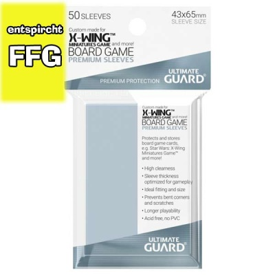 Ultimate Guard Premium Sleeves X-Wing (50)