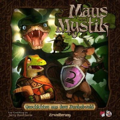 Maus und Mystik - Geschichten aus dem Dunkelwald - Erw. Dt