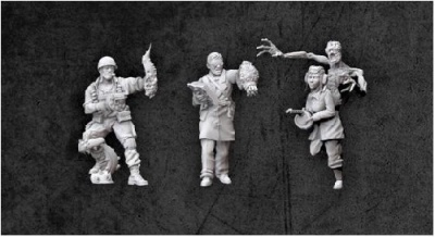 Achtung!Cthulhu - Allied Investigators: Pack 1 (3)