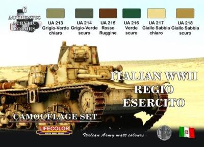 """Camouflage Set  """"Italienische Panzer WWII"""""""