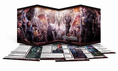 Shadowrun 5: Sichtschirm-Pack (4-seitig im Hardcover)
