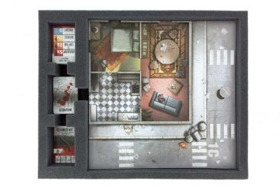 Schaumstoffeinlage für Zombicide Token, Tiles und Karten