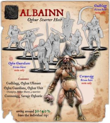 Albainn Oghur Monstrous Infantry Starter Host