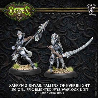 Legion Epic Warlocks Saeryn & Rhyas
