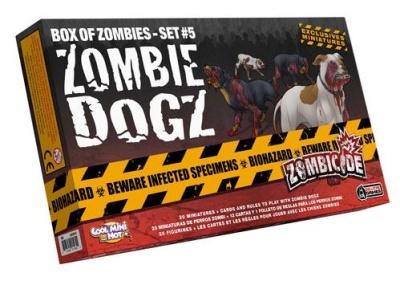 Zombicide: Box of Zombies Set # 5 - Zombie Dogz (20)