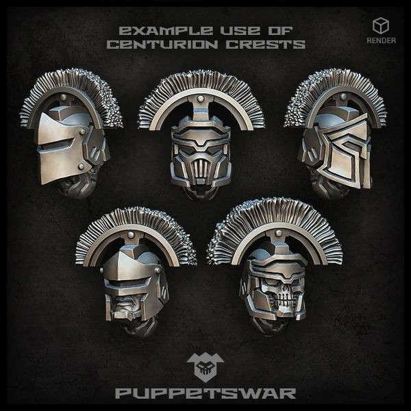 Centurion crests