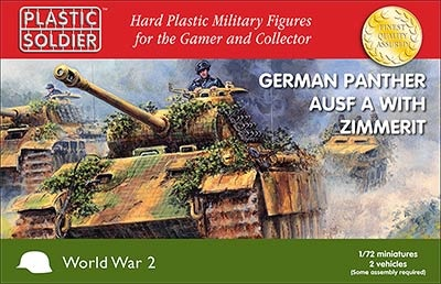 1/72: panther A w Zimmerit (2)