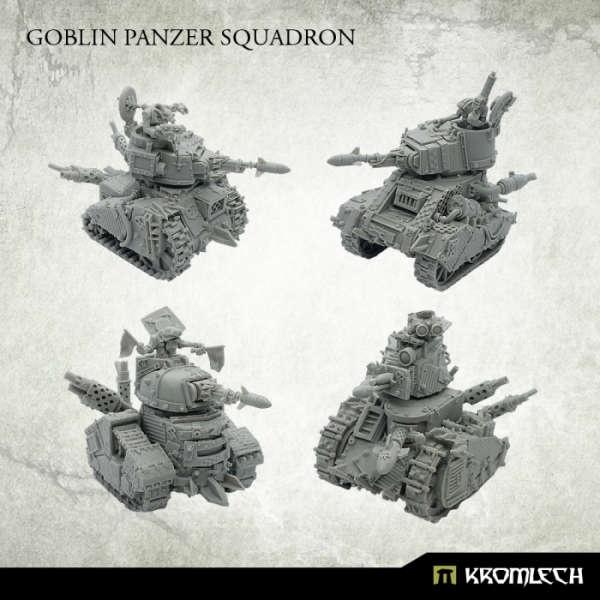 Goblin Scrap Tank Squadron (4)