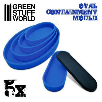 Containment Moulds for Bases - Oval (5)