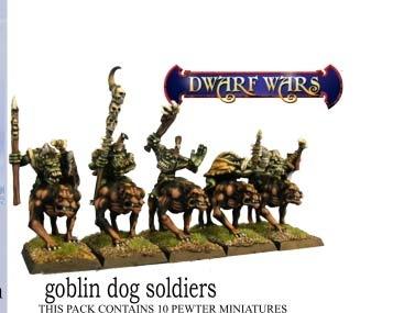 Goblin Mounted Company (3)