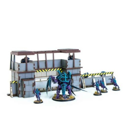 28mm Defensive Lines Gate House