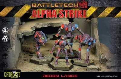 BattleTech Alpha Strike: Recon Lance Pack