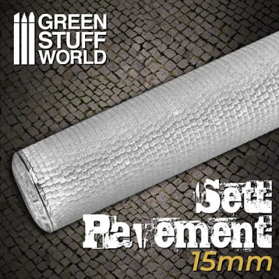 Rolling Pin Sett Pavement 15mm
