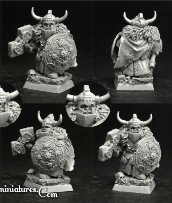 28mm/30mm Dwarf Lord Gulmar (1)