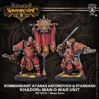 Kommandant Atanas Arconovich & Standard