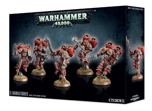 Raptoren / Warpkrallen der Chaos Space Marines