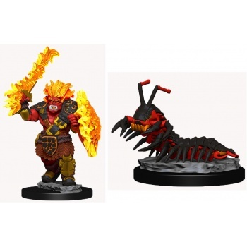 WizKids Wardlings: Fire Orc & Fire Centip