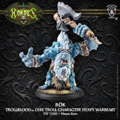 Trollblood Character Heavy Warbeast Rök