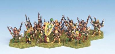 Wood Elf Heavy Infantry (24)