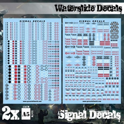 Waterslide Decals - Signal Decals