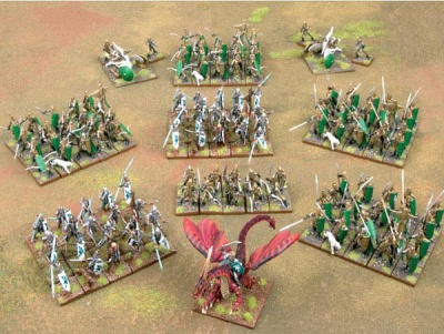 Elf Prince Tydarion's Dragon Host MEGA  ARMY