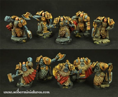 Celtic SF Warriors Unit (5)